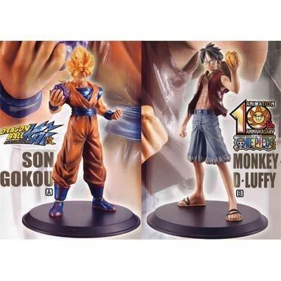 Dragon Ball Kai, One Piece DX Figure Full set of 2 (japan import)