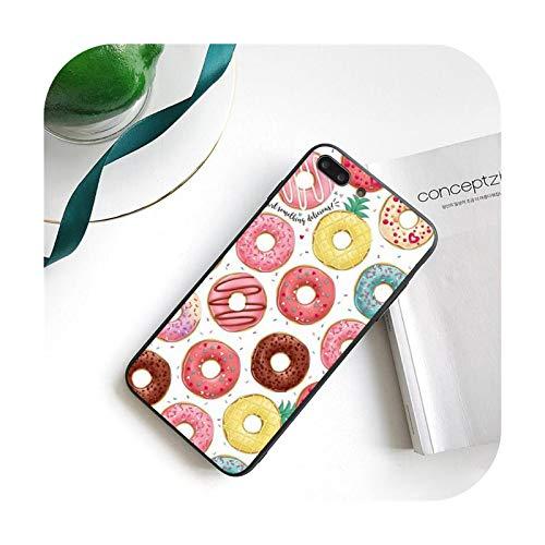 Ciambella alimentare custodia per iPhone 11 8 7 6 6S Plus 7 Plus 8 Plus X XS MAX 5 5S XR 12 11 Pro max se 2020 Funda Cover-a1-Per iPhone Xs max