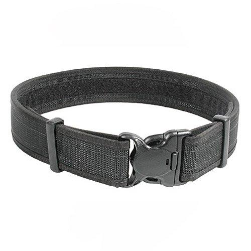 BLACKHAWK 44B4LGBK Black Reinforced 2-Inch Web Duty Belt with Loop Inner - Large