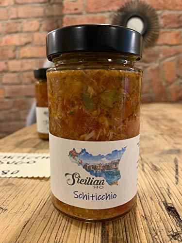 Sugo Schiticchio -280gr-Ready Sugo voor Pasta. Artisan luxe zelfgemaakt eten.
