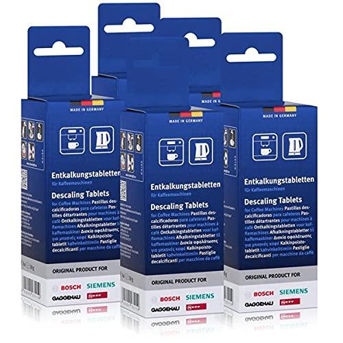 5 x Bosch TCZ6002 tabletki odkamieniające do ekspresów do kawy