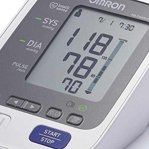 Omron Healthcare M6 Comfort Monitor de presión arterial automático de braz, memoria de hasta 200 mediciones: Amazon.es: Salud y cuidado personal