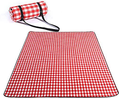 Alfombra de picnic portátil impermeable y a prueba de humedad para acampar y acampar al aire libre, tamaño del equipo al aire libre: 1,5 x 2 m (tamaño: 1,5 x 2 m)