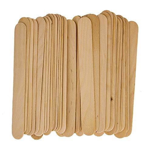 TCP Global Wood Paint Mixing Sticks - 50 Pack - Automotive, Crafts, Airbrush, Art