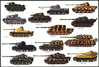 GERMAN TANKS GLOSSY POSTER PICTURE PHOTO tiger maus grosstractor war fight