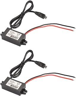 graceme 300/W Auto Cambio Richter DC 12/V a AC 230/V Inversor de corriente con 2/USB Puertos 2.1/A  de la UE conector lata