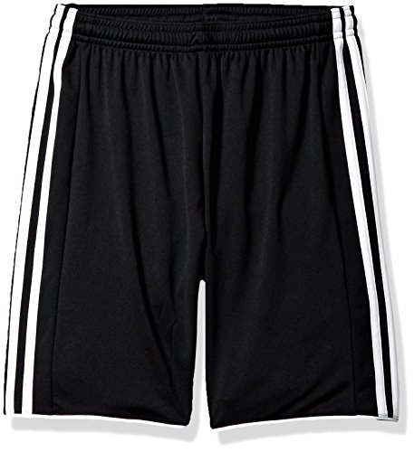 adidas Youth Soccer Tastigo 17 Shorts, Black/White, Medium
