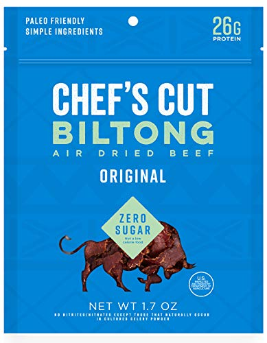 Chef's Cut Original Biltong Beef, 1.7 oz (Pack of 4)