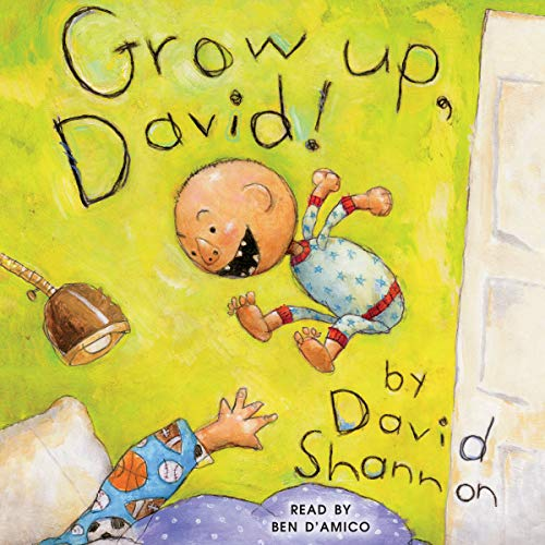 Grow Up, David!  By  cover art