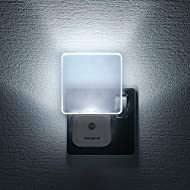 Integral LED, Plug in Walls with Dusk to Dawn Photocell, Auto Sensor Night Lighting for Hallways, St...