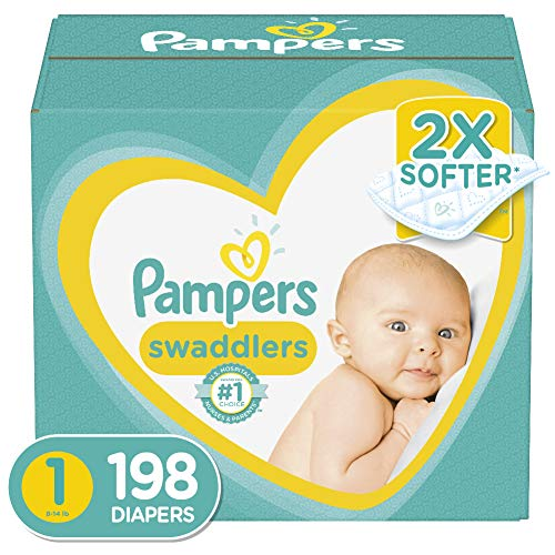 Pampers Swaddlers Disposable Baby Diapers, ONE MONTH SUPPLY Now $25.56 Shipped