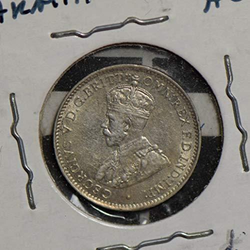 1911 AU Australia 1911 3 pence silver AU0075 DE PO-01
