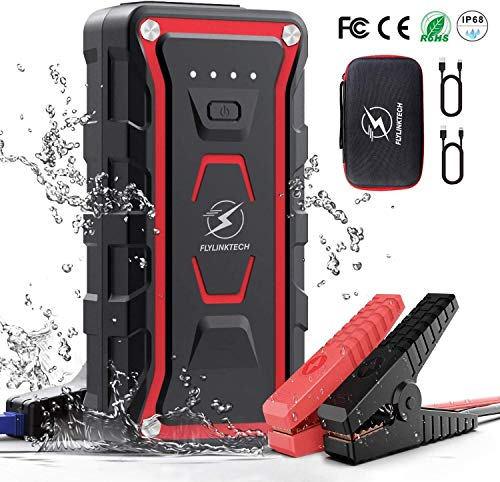 Buy FLYLINKTECH 1500A Peak 20000mAh Portable Car Jump Starter (for All Gas& up to 7.0L Diesel Engine...