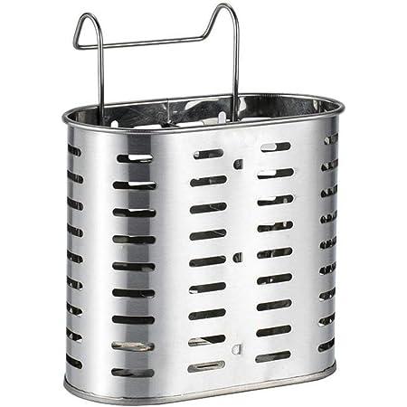Cngstar Panier de Support de s/échage de Couverts en Acier Inoxydable Support de Baguettes /égouttoir de Vaisselle pour la Cuisine,style1