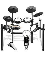 Donner 電子ドラム メッシュ 自宅練習 静音性 折りたたみ式 MIDI機能 225種類音色 30デモ曲 ドラムスティック付 初心者 日本語説明書 DED-200 (5ドラム4シンバル)