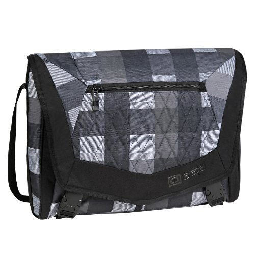 OGIO International Vamp S Laptop Messenger Bag (Gentry Plaid)