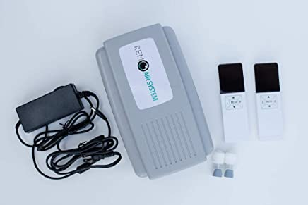 New Model - 2 Wireless Remote REM Air System Replacement Air Bed Pump Compatible with Select Comfort or Sleep Number Mattresses