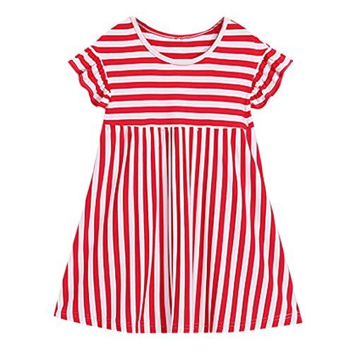 Kobay Baby Girls Skirt Kids Girls Petticoat Rainbow Pettiskirt Bowknot Skirt Tutu Skirts Dancewear Dresses Suit for 2-6 Years