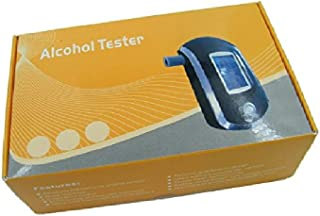 True Sense ALC AT6000 Alcohol Tester Detector Digital Portable LCD Display Breath Analyser Police Alcohol Breathalyzer wit...