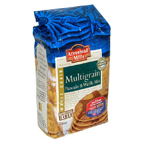 Arrowhead Mills Pancake Mix, Multigrain, 5 Pound Boxes (Pack of 6)