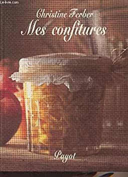 Hardcover Mes confitures [ancienne édition] [French] Book
