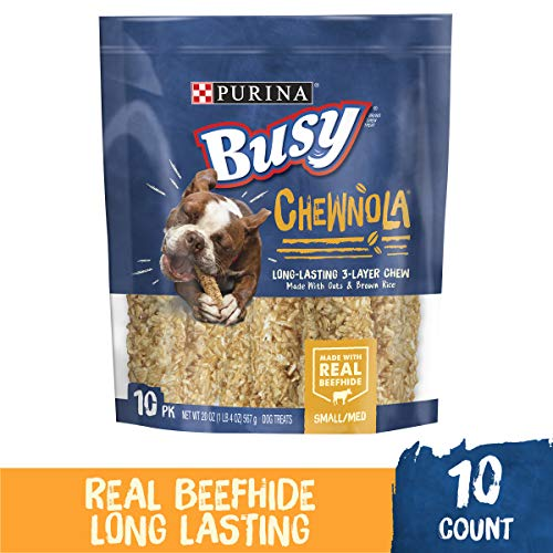 Purina Busy Chewnola Dog Treats - 10 Chewbones - 20 OZ