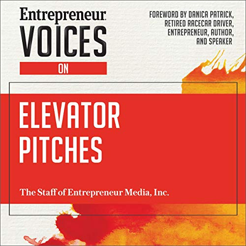 Entrepreneur Voices on Elevator Pitches audiobook cover art