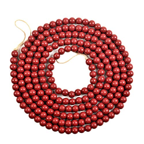 SUCHUANGUANG Christmas Tree Garland Wooden Bead Christmas Room Decor Ornament Party Decor Bead string DR
