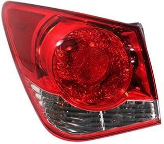 Crash Parts Plus Driver Left Side Tail Light Tail Lamp for 11-14 Chevrolet Cruze