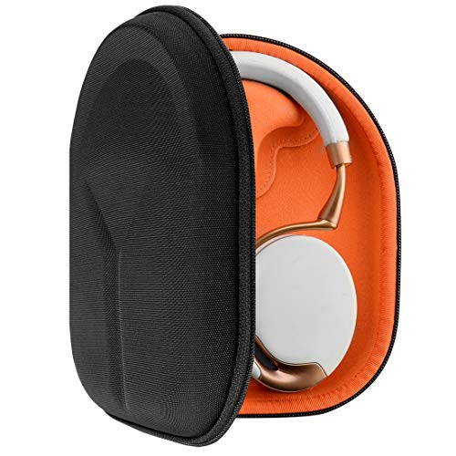 Geekria UltraShell Case Compatible with Parrot Zik 2.0, Zik 3, Zik Headphones, Replacement Protective Hard Shell Travel Carrying Bag with Cable Storage (Black)