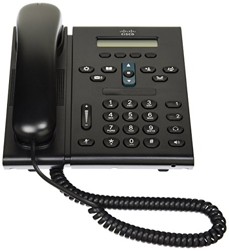Cisco 6921 Unified IP Phone CP-6921-CL-K9= Slimline Handset, POE, Power Supply Not Included, Communications Manager Required