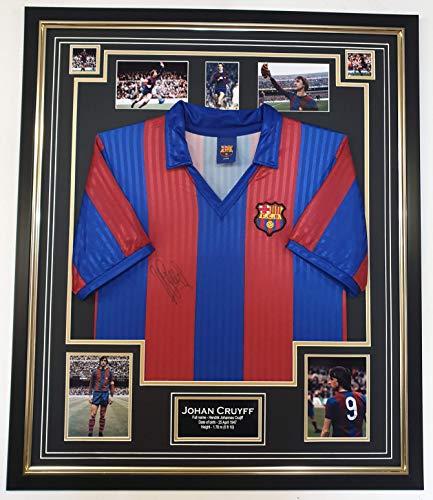 Signiertes Barcelona Shirt von Johan Cruyff