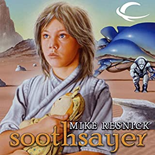 Soothsayer audiobook cover art