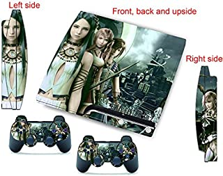 ps3 skins decals vinyl sticker cover ff13-2 for ps 3 slim console