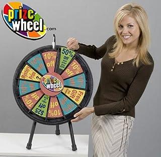 Marketing Holders Black Mini Prize Wheel (Mini Wheel, Black)