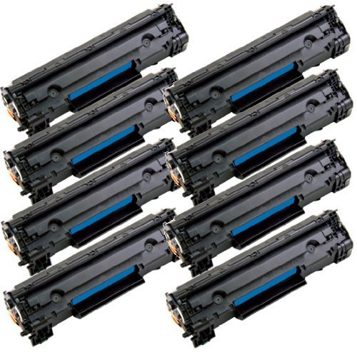 2inkjet 125 Compatible Toner Cartridge Fits Canon 125 (3484B001AA) ImageClass LBP6000, LBP6030w, ImageClass MF3010 (1 Pack Black) Photo #3