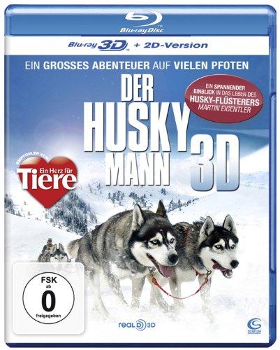 Der Husky Mann 3D - Ein großes Abenteuer auf vielen Pfoten (inkl. 2D Version) [Blu-ray 3D]