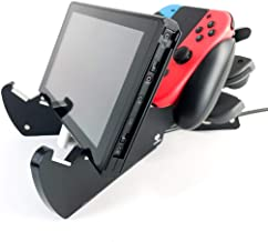 TreeCloud9 SharkStand Nintendo Switch, Multi-angle Charging Play Stand Holder for Nintendo Switch, & Joy-Con and Pro controllers, Nintendo Switch accessories gift