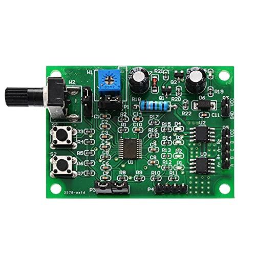 Wnuanjun 1 UNID Multifuncional DC 5V-12V Paso a Paso del Motor 2 Fase 4 Fase Stepper Board Conductor Speed Controlador de Velocidad DIY Herramientas