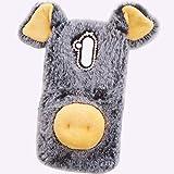 HTC U11Plus Art Case, Handmade Fluffy Villi Dog Baby Wool