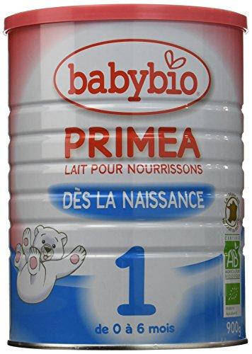 Babybio Primea 1 Lait Nourrisson Bio 0-6 Mois 900 g