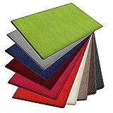 Alfombra Noblesse | muchos tamaños | buen sello | colores modernos | sala de estar, dormitorio, habitaciones para los más jóvenes., polipropileno, verde, 200 x 200 cm
