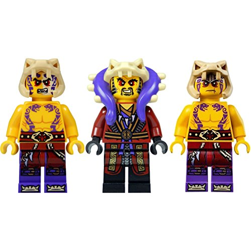 LEGO Ninjago Figurenset: 3 Ninjago Figuren (Master Chen, Krait und Sleven)