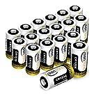 CR123A 18個 3Vリチウム電池 1600mAh Keenstone Qrio Lock 電池 PTC保護付き 非充電式バッテリー カメラ マイク 懐中電灯 測光計 バイク 適用