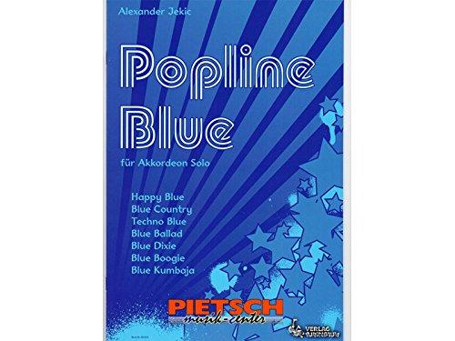 Verlag Purzelbaum, Popline Bleu - 7 leichte Poptitel, von Alexander Jekic
