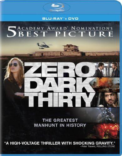 Zero Dark Thirty Blu ray DVD Combo product image