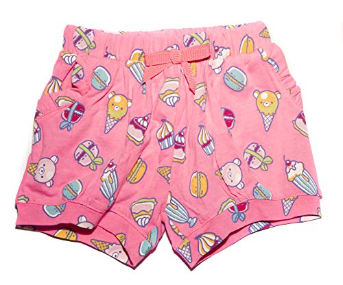 Prenatal Pack Dos pantaloncitos Bermuda Cortos Bebe niña