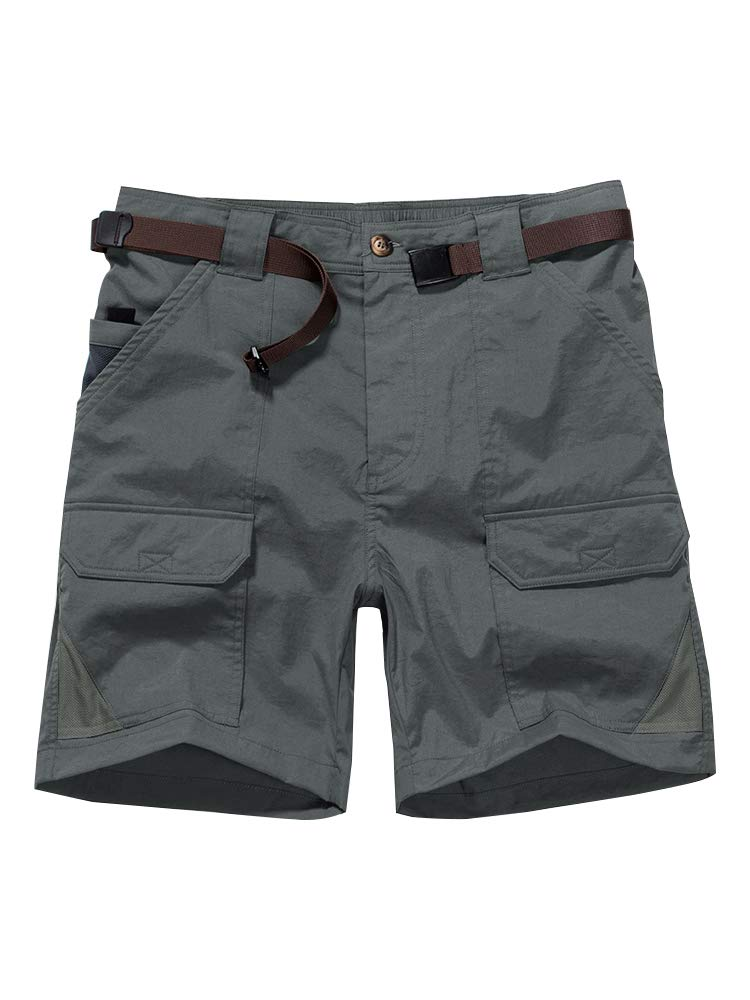 Casual Shorts Expandable Lightweight 6018 Dark