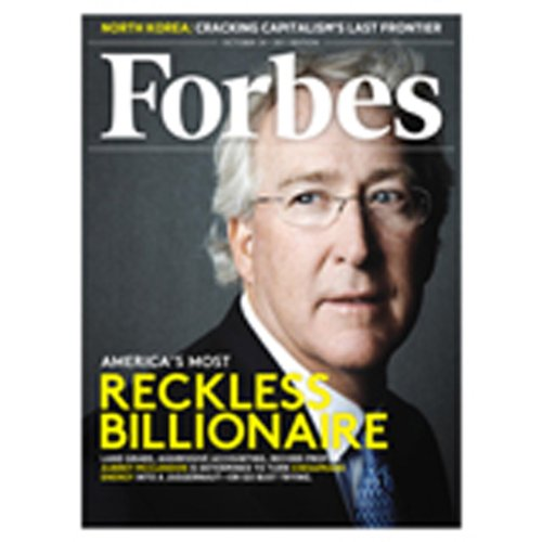 Forbes, October 10, 2011 cover art