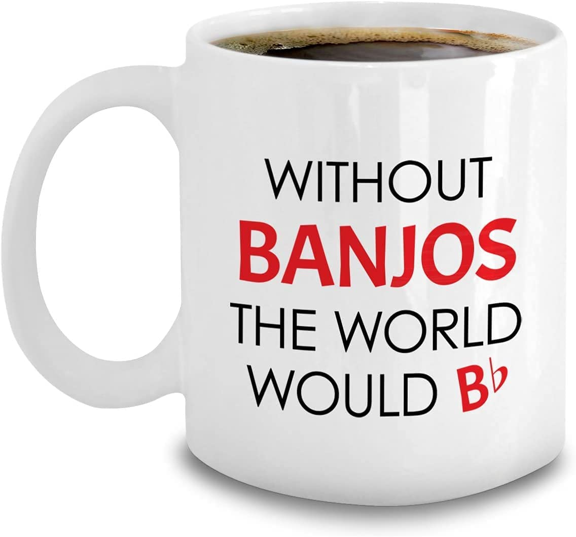 Banjo Coffee Mug - Kansas City Mall Players Accessories National products Gifts For